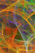 Fractal Geometry Digital Art Originals - Parade by William Wright