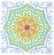 Healing Art - Paradigm Shift mandala by Karen MacKenzie