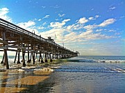 San Clemente Pier Photos - Paradise at the Pier by Traci Lehman