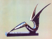 Original Sculptures - Paradise Bird by Eimont Bronzini