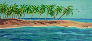 Ocean Art - Paradise Island by Paintings by Gretzky