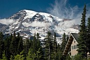 Mt Rainier National Park Art - Paradise View by Jim Chamberlain
