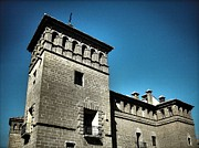 Architektur Metal Prints - Parador de Alcaniz - Spain Metal Print by Juergen Weiss
