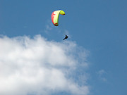 Extreme Sport Framed Prints - Paraglider Framed Print by Cindy Singleton