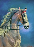Horse Art - Paranormal by Jeanne Newton Schoborg