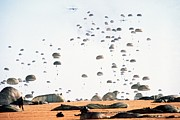 Allies Photos - Paratroopers From The 82nd Airborne by Everett