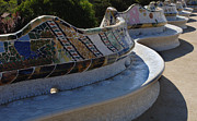 Parc Guell Prints - Parc Guell Spain Print by Bob Christopher