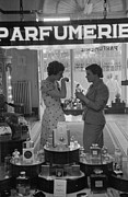 Counter-culture Framed Prints - Parfumerie Framed Print by Kurt Hutton