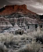 Pioneer History Prints - Paria Townsite Print by Leland Howard