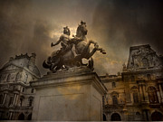 Romantic Paris Prints Posters - Paris - Kings of Paris - King Louis XIV  Poster by Kathy Fornal