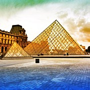 Bestoftheday Acrylic Prints - Paris - Louvre Acrylic Print by Luisa Azzolini