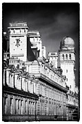 Black Sky Prints - Paris Architecture II Print by John Rizzuto