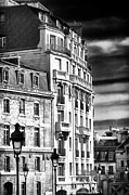 Black Sky Prints - Paris Architecture III Print by John Rizzuto
