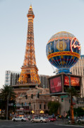 Las Vegas Prints - Paris at Dusk Print by Andy Smy