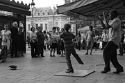 Buskers Photos - Paris Buskers by Kenneth Russell