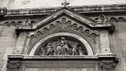 TONY GRIDER - Paris Church Facade in Sepia