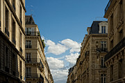 Old Street Metal Prints - Paris Clouds Metal Print by Philip Sweeck