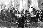 Alexei Prints - Paris: Conference, 1856 Print by Granger