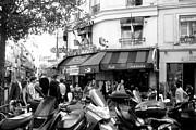 Paris Corner Print by Tanya  Searcy