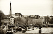 Old School Houses Photo Metal Prints - Paris Days Metal Print by John Rizzuto