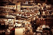 Europe Photo Originals - Paris from above by Cabral Stock