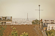 Montmartre Metal Prints - Paris From Montmartre Metal Print by by Juanedc