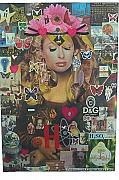 What Is Life?  Mixed Media - Paris Hilton Atomic  Monna Lisa by Francesco Martin