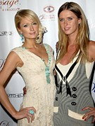 Nicky Hilton Prints - Paris Hilton, Nicky Hilton At Arrivals Print by Everett
