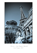 Paris Las Vegas Hotel And Casino Posters - Paris Las Vegas Poster by Daryl Marquardt