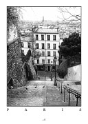 Stadtteil Prints - Paris - Montmartre Print by ARTSHOT - Photographic Art