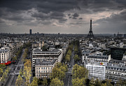 West Paris Framed Prints - Paris No. 1 Framed Print by Ryan Wyckoff