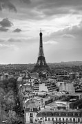 Eifel-tower Framed Prints - Paris No. 4 Framed Print by Ryan Wyckoff