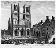 Paris: Notre Dame, 1790 Print by Granger