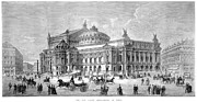 1875 Photos - Paris Opera House, 1875 by Granger