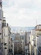 Montmartre Metal Prints - Paris Seen From Montmartre Metal Print by Romeika Cortez