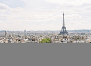 Eiffel Tower Metal Prints - Paris Skyline Metal Print by Photographed by Victoria Phipps ©
