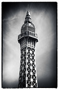 Black And White Paris Posters - Paris Top View Poster by John Rizzuto