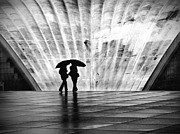 Shadow Art - Paris Umbrella by Nina Papiorek