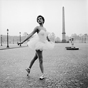 Ballet Dancer Photo Posters - Parisian Ballet Poster by Serge Berton