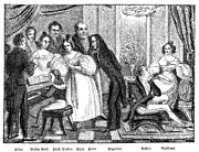 Parisian Salon Print by Granger