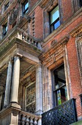 Front Porch Prints - Park Avenue Building  Print by Kelly Wade