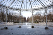 Vichy Framed Prints - Park by the opera Framed Print by Alexander Davydov