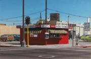 Hot Dog Stand Paintings - Park Free for Penneys by Michael Ward