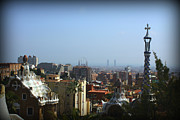 Spain Photos - Park Guell by Kevin Flynn