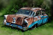 Rusted Cars Photos - Parked by Lisa Moore