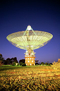 Satellite Prints - Parkes Radio Telescope Print by Yury Prokopenko