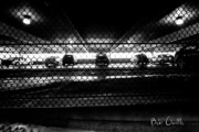Fence Framed Prints - Parking Garage Framed Print by Bob Orsillo