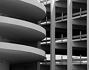 Parking Garage Print by David April
