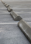 Stopper Photo Metal Prints - Parking lot Metal Print by Blink Images