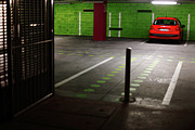 Cellar Framed Prints - Parking lot Framed Print by Gaspar Avila